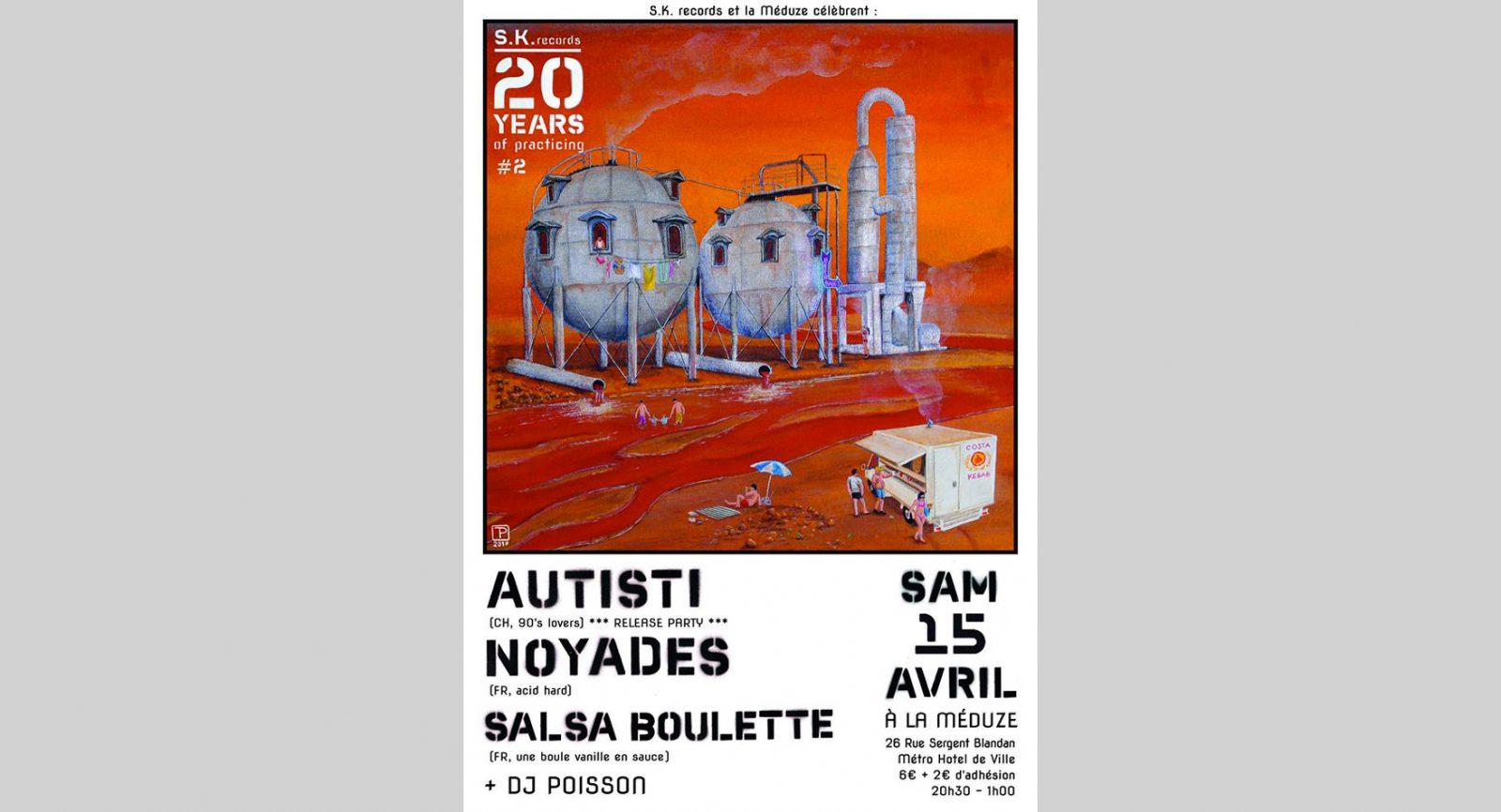 20 ans S.K. Records w/Autisti