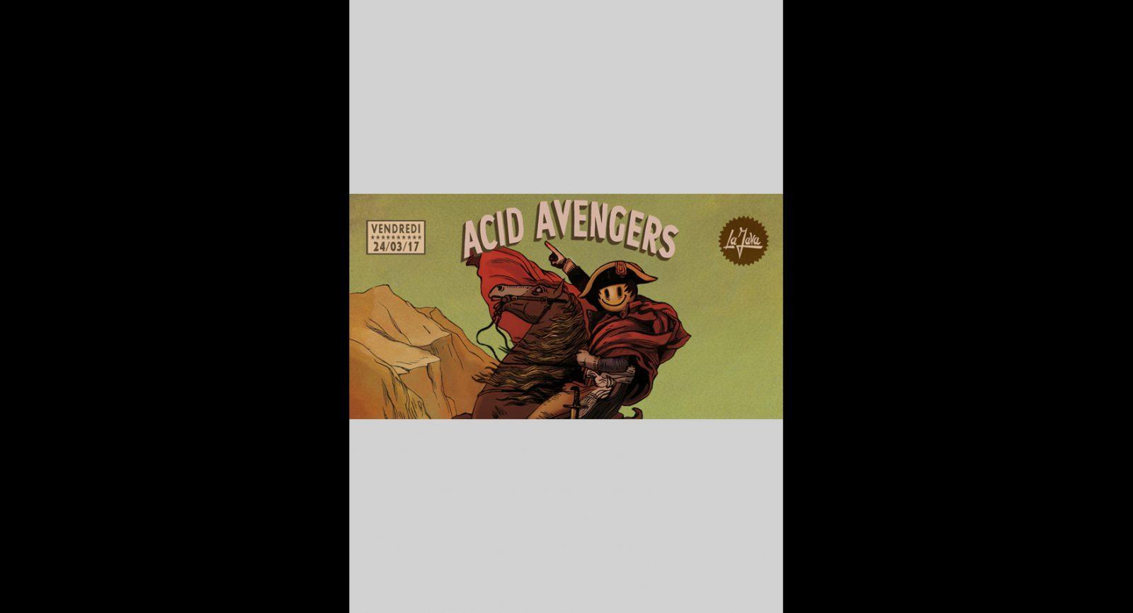 Acid Avengers w/Jérôme Hill