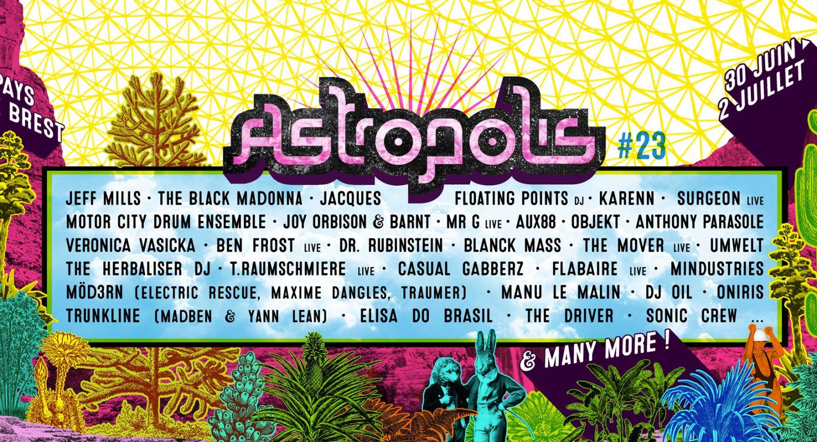 [Festival] Programmation Astropolis 2017