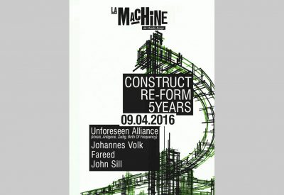 Construct Re-Form : 5 Years
