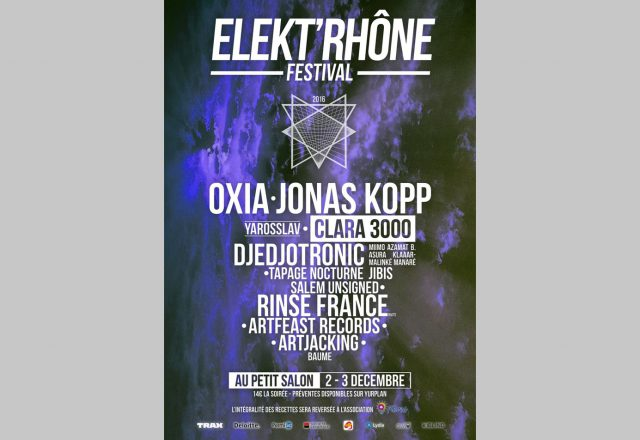 [Festival] Elekt'rhône 2016