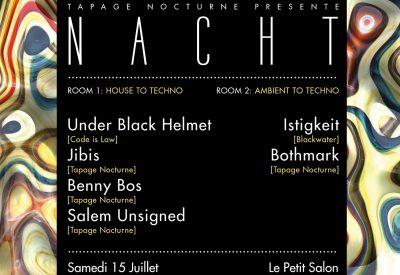 Nacht #17 w/Under Black Helmet