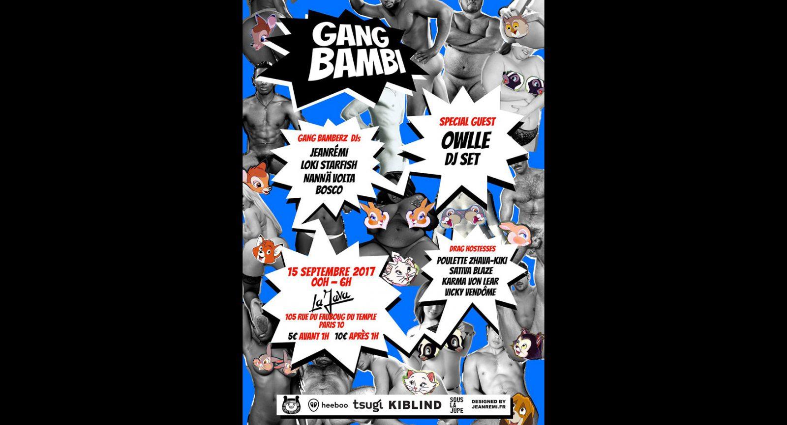 Gang Bambi XXL w/Owlle
