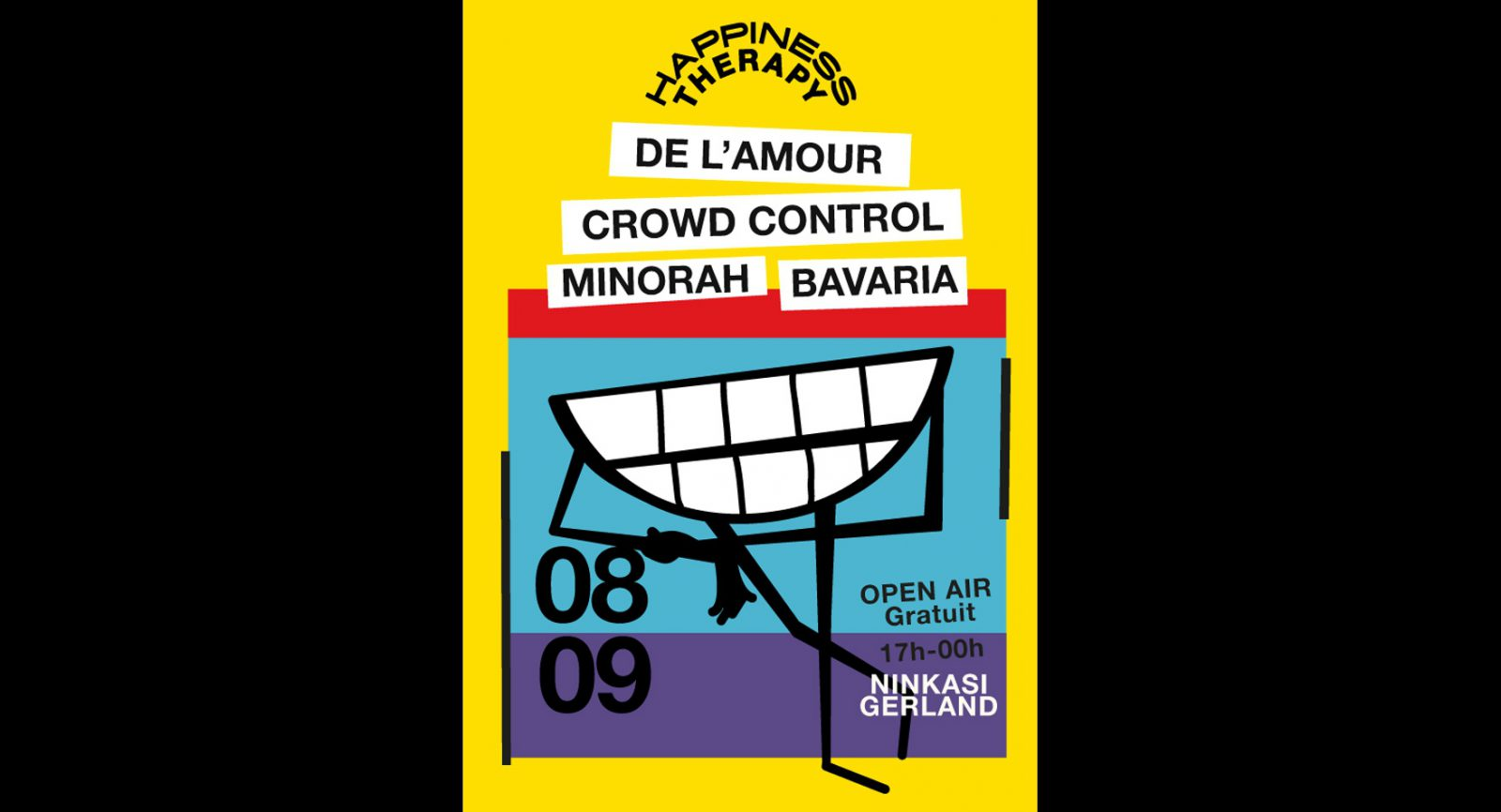 Happiness Therapy Open Air w/De L'Amour