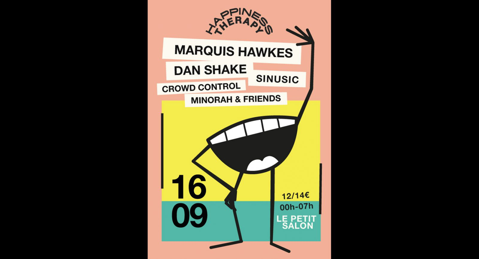 Happiness Therapy w/Marquis Hawkes