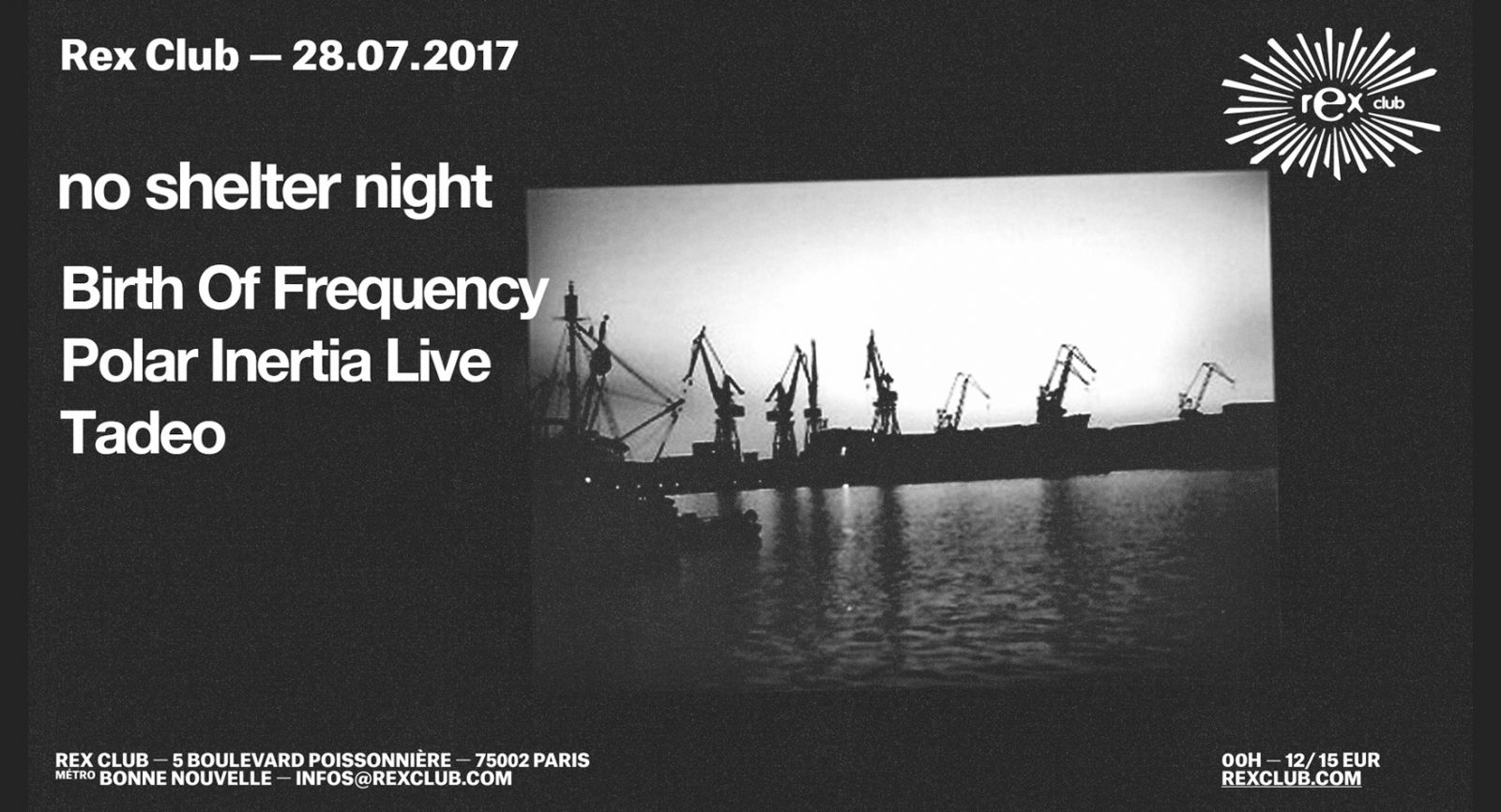 No Shelter label night w/Birth of Frequency
