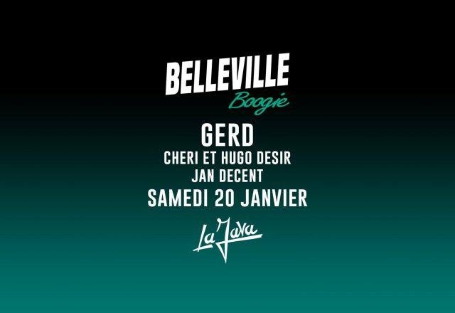 [Soirée] Belleville Boogie w/Gerd