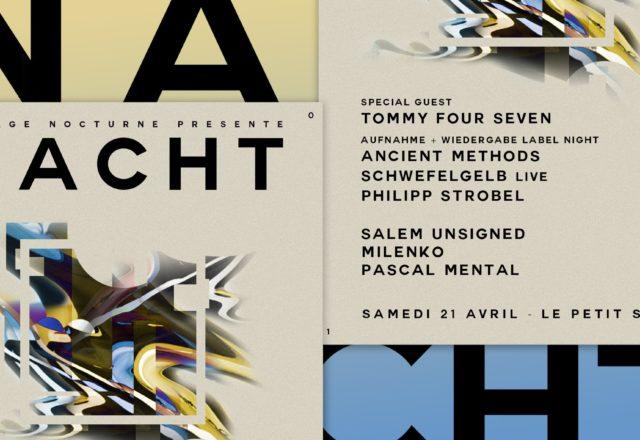 [Soirée] Tapage Nocturne w/ Tommy Four Seven, Aufnahme et Wiedergabe