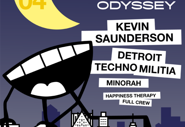 [Soirée] Happiness Therapy w/ Kevin Saunderson, Detroit Techno Militia