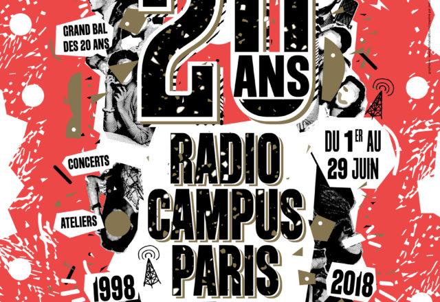 [Festival] Radio Campus Paris fête ses vingt ans !