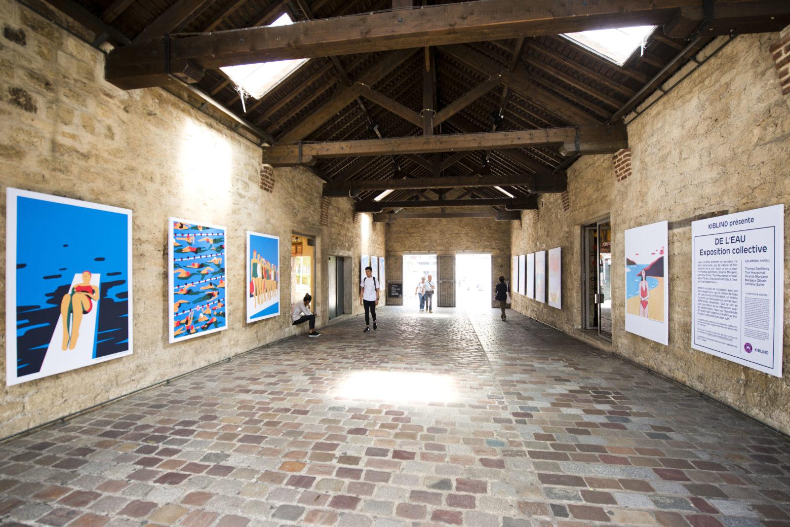 Kiblind Hors les murs : exposition «De l'eau»