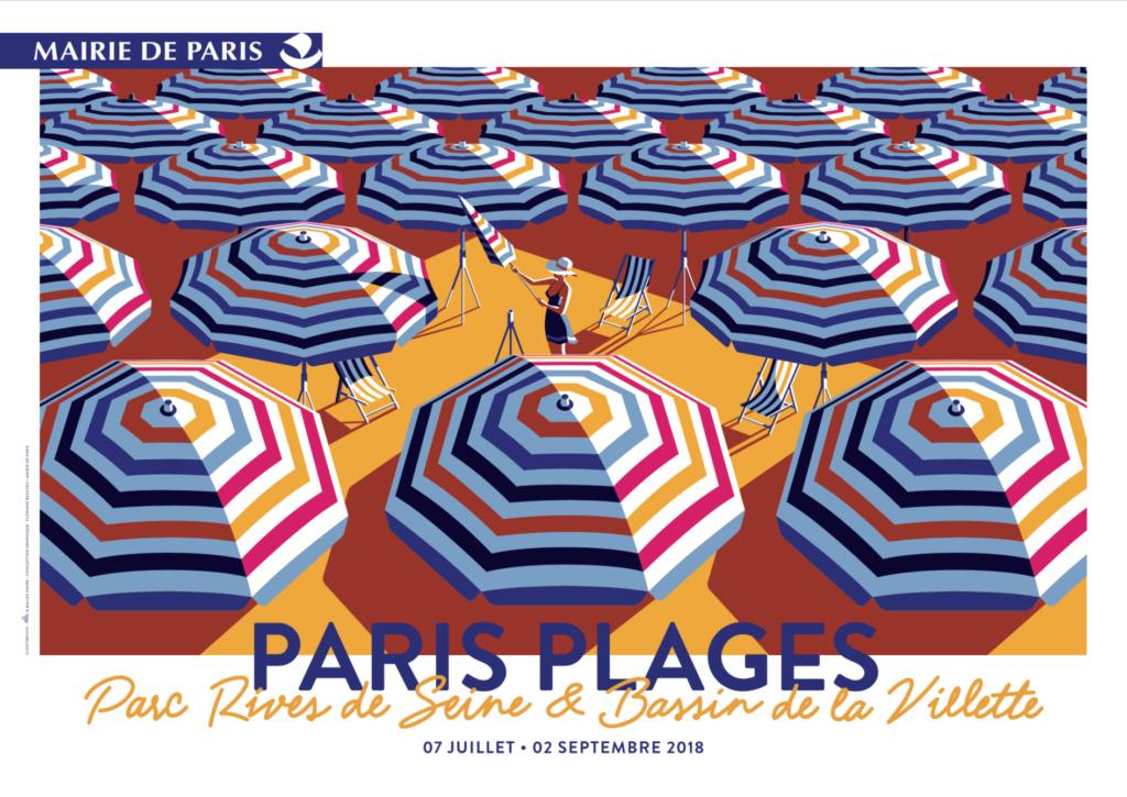 Paris Plages 2018 - Kiblind