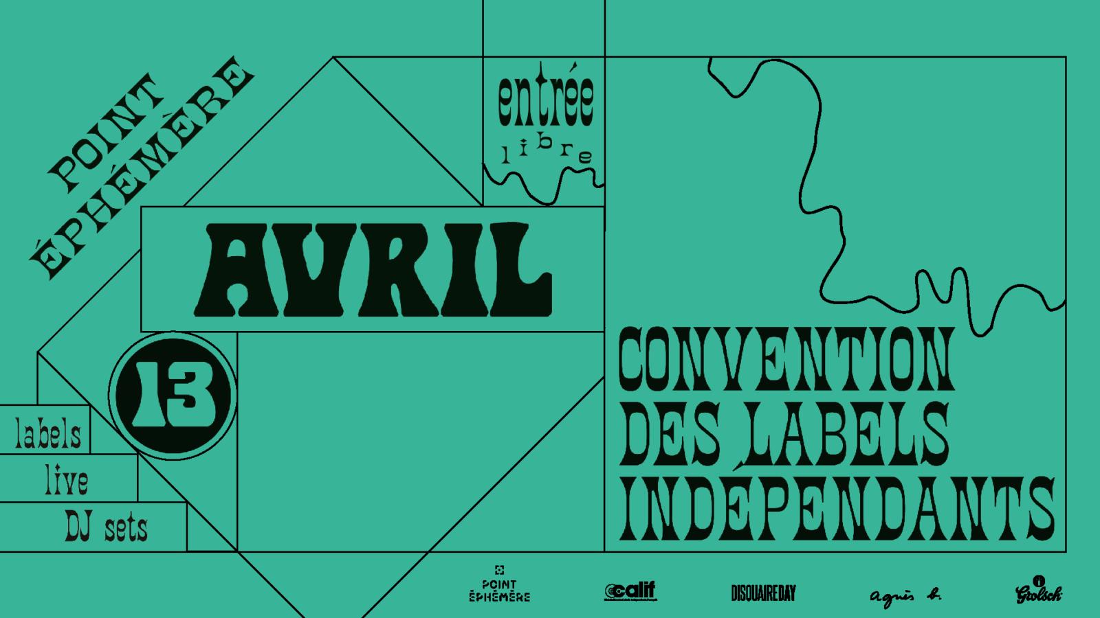 [Convention] des labels indépendants – Point Ephémère
