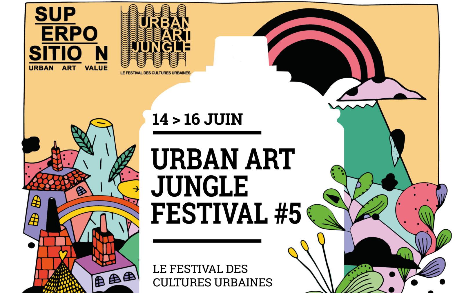 [Festival] Urban Art Jungle #5