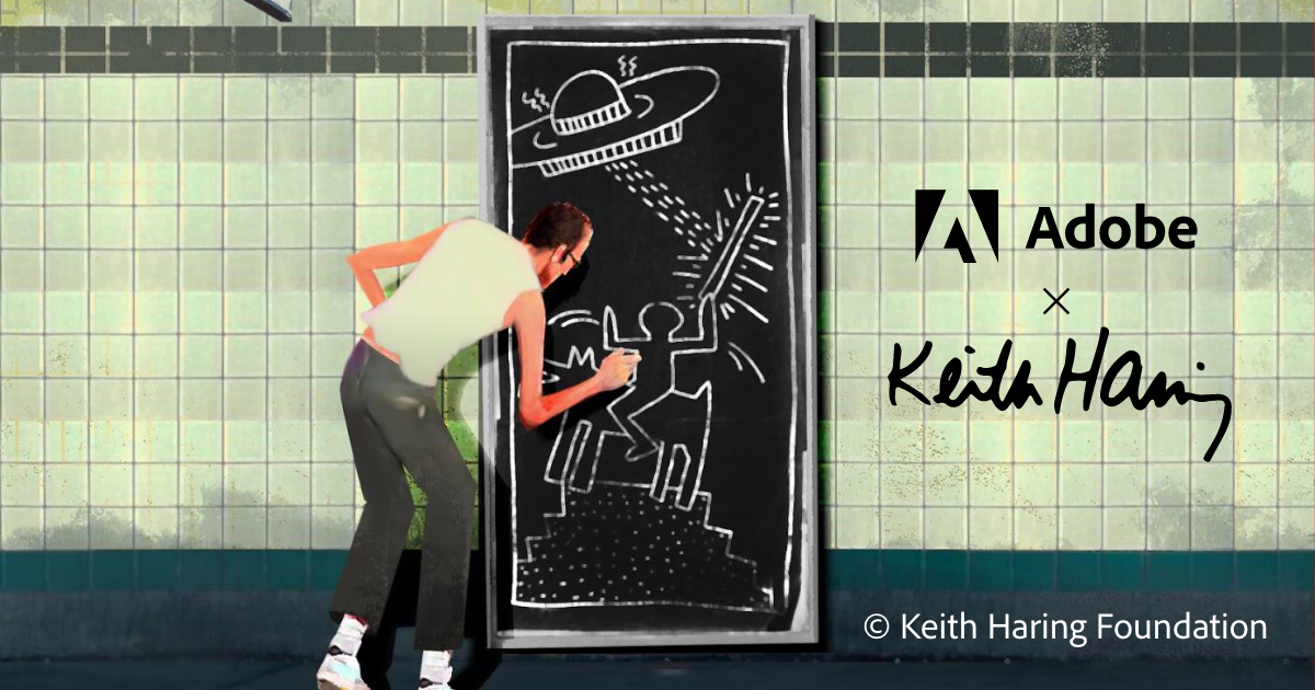 Kiblind x Adobe : Concours Keith Haring
