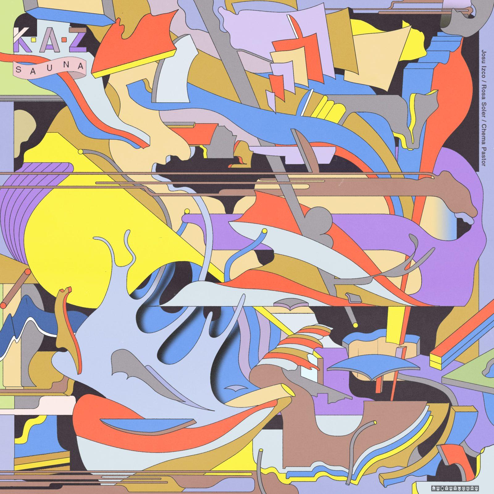 Derrière le vinyle : Sauna de K.A.Z par Oscar Raña